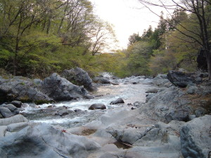 憾満ガ淵、大谷川