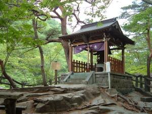 龍王峡 龍王神社