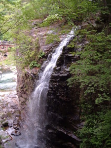 龍王峡 虹見の滝