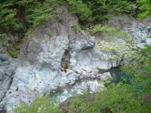 龍王峡 かめ穴