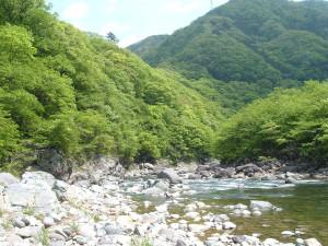 龍王峡 白岩半島