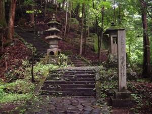 滝尾古道|滝尾神社