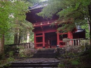 滝尾古道|滝尾神社 楼門