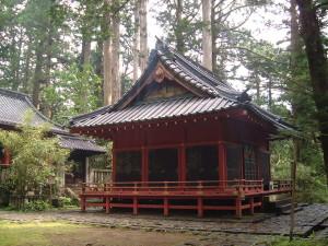 滝尾古道|滝尾神社 拝殿