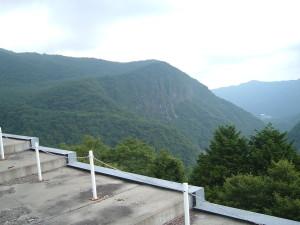 ドライブコース ~いろは坂~中禅寺湖スカイライン編~ いろは坂の屏風岩