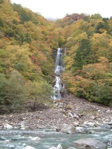 蛇王滝の紅葉